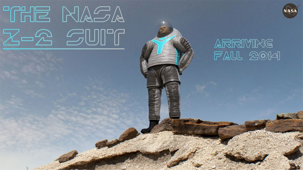 Nasa Tron Suit