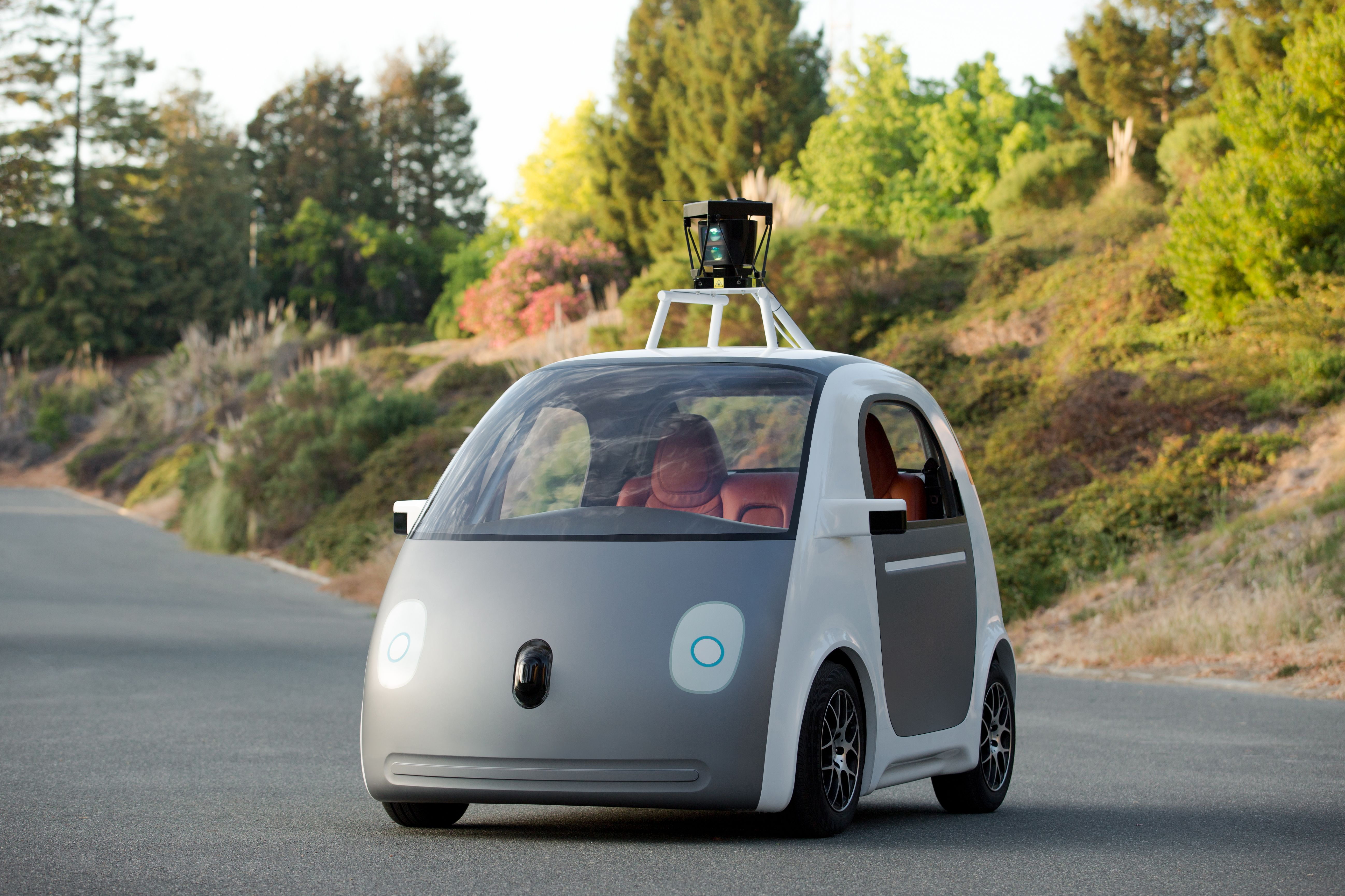 Google's New Self Driving Cars
