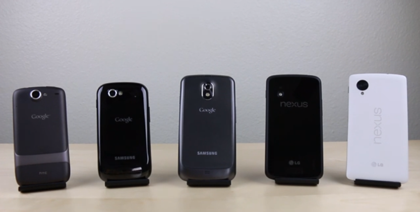 all nexus phones