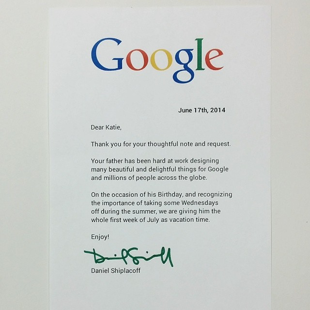 Google Replies To The Little Girls Letter