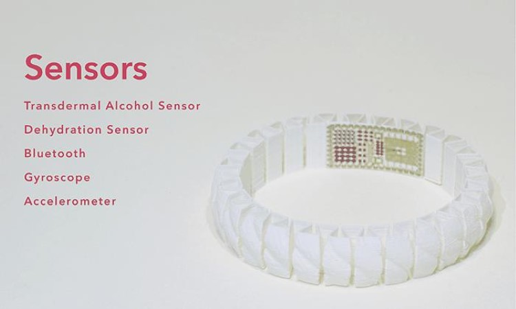 A bracelet that'd tell you about your drunkenness And perhaps be a saviour, saving you from sexual assaults.